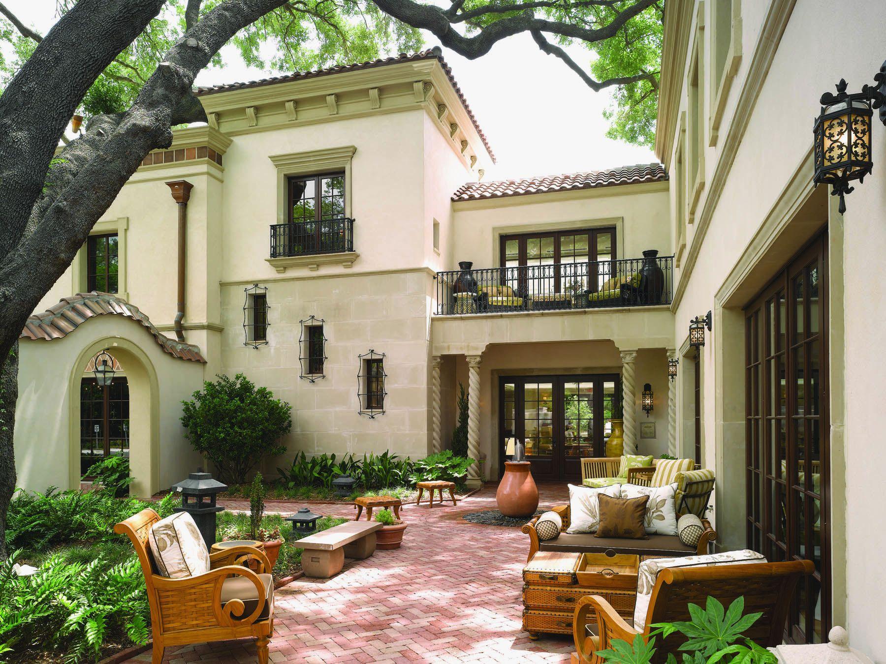 Hacienda House Plans Center Courtyard Inspirational Exterior Joseph Pinterest Www Lib Spanish Style Homes Courtyard House Plans Colonial Revival Architecture