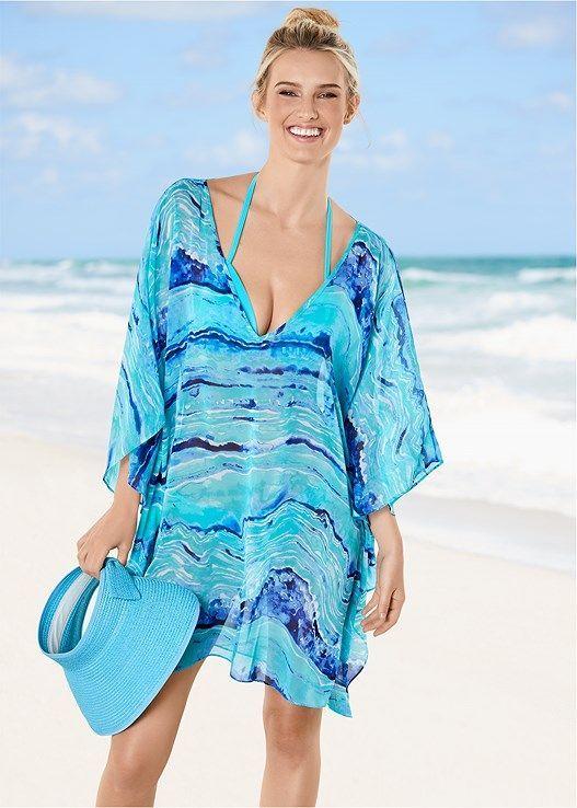 0045b77213f Oversized v-neck cover-up in 2019 | Dresses | Plus size sundress ...
