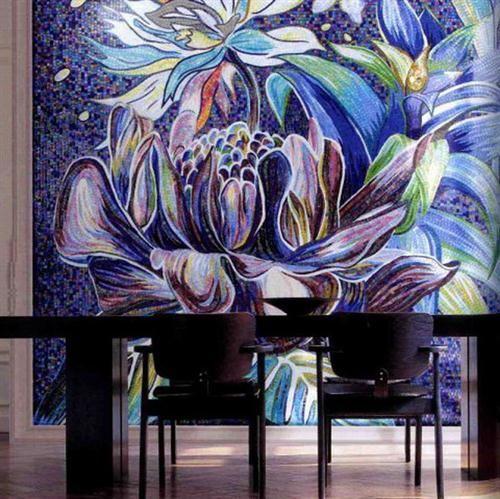 Sorprendentes diseños con mosaicos de vidrio