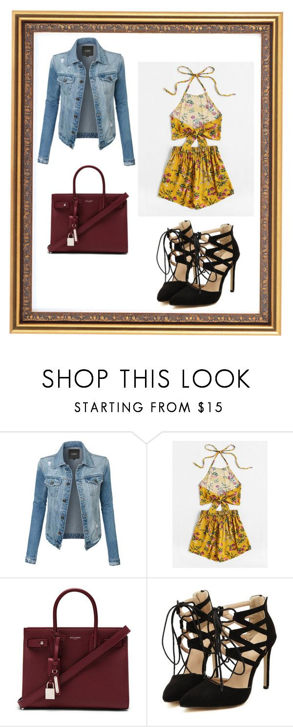 """""""Untitled 19"""" by sherlockian-tardis-flyer ❤ liked on Polyvore featuring LE3NO and Yves Saint Laurent"""