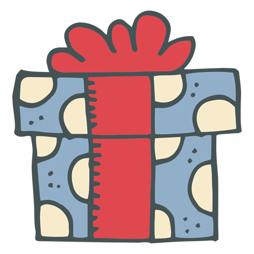Gift Box Hand Drawn Cartoon Icon 6 Ad Sponsored Ad Hand Icon Cartoon Box In 2020 Cute Doodles Cartoon Icons Box Hand