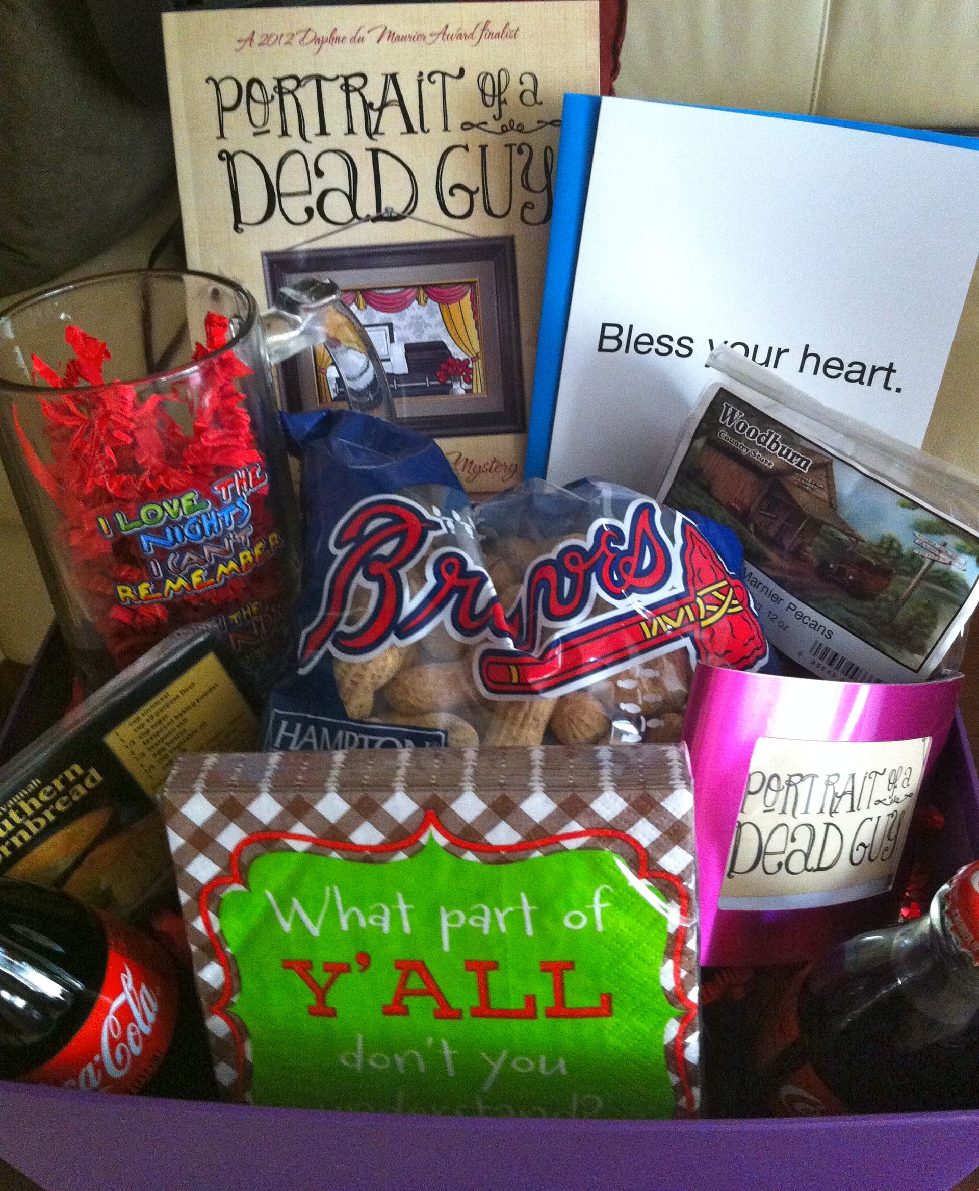 Pin By Susan Hickey On Georgia Homemade Gifts Themed Gift Baskets Georgia Gifts
