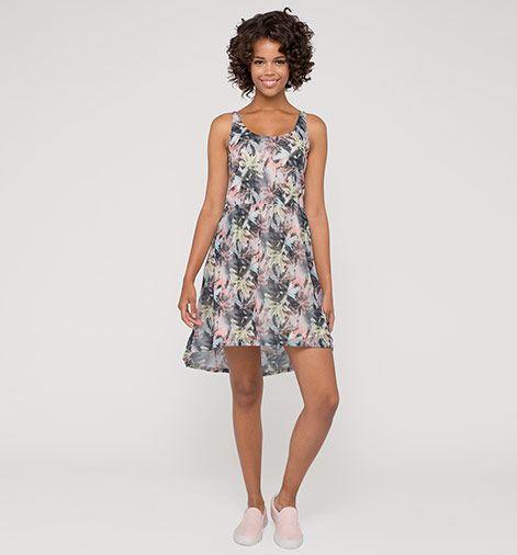 Damen Chiffon-Kleid in grün - Mode günstig online kaufen ...