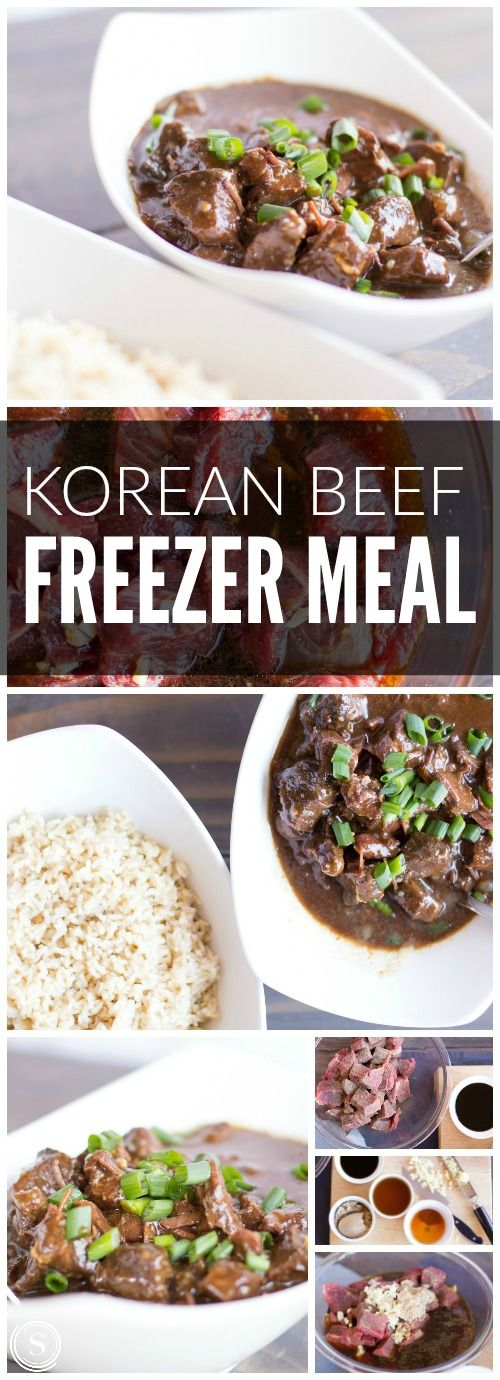 Korean Beef Freezer Meal! Easy Recipes for Make Ahead Cooking!