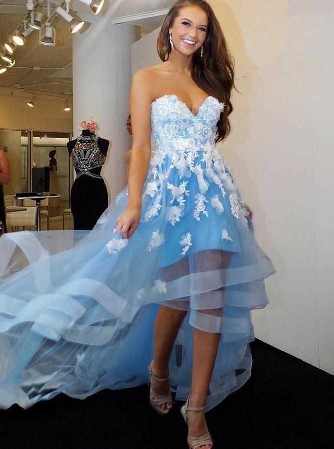 4a57c9d5171 SkyBlue Prom Dresses