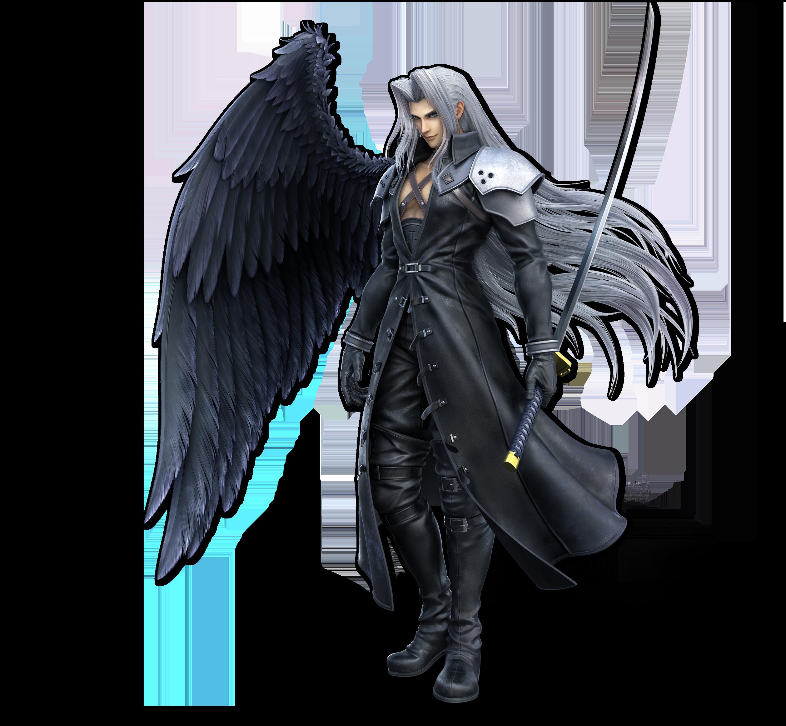 Ssbu Sephiroth Render Personajes De Videojuegos Smash Bros Super Smash Bros