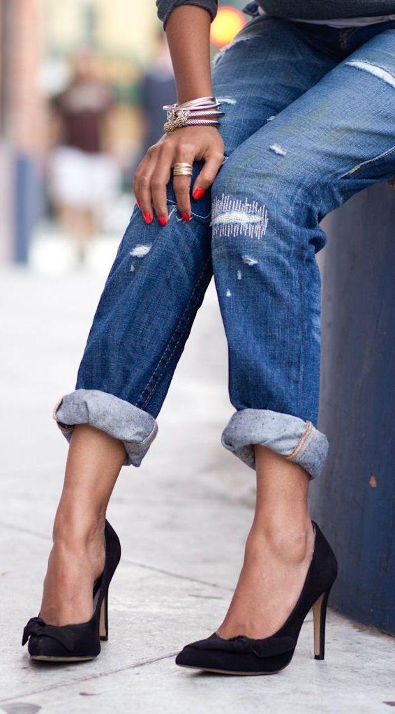 ♔ Jeans & Pumps