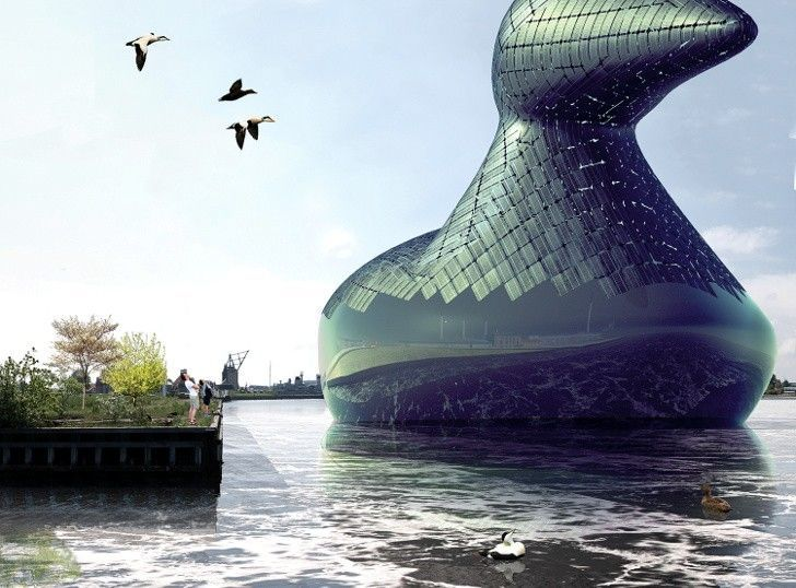 The Energy Duck is a Public Art Installation and Power Plant #eco #ideas trendhunter.com