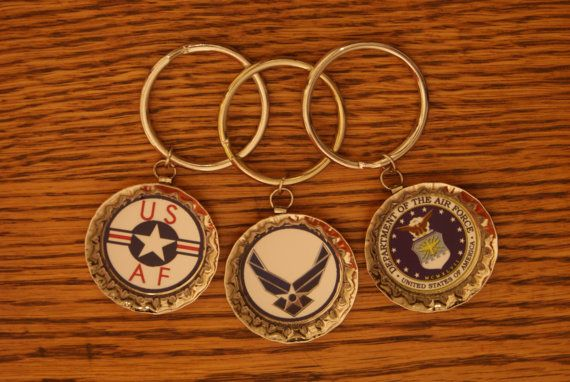 10 Air Force Wedding Favors Bottle Cap Key Chain Could Get A Thank