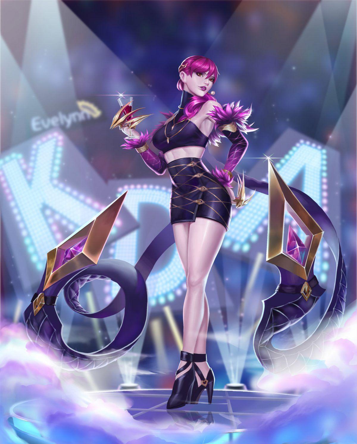 K Da Evelynn By Li Yang Hd Wallpaper Background Fan Art Artwork League Of Legends Lol Lol League Of Legends League Of Legends League Of Legends Characters