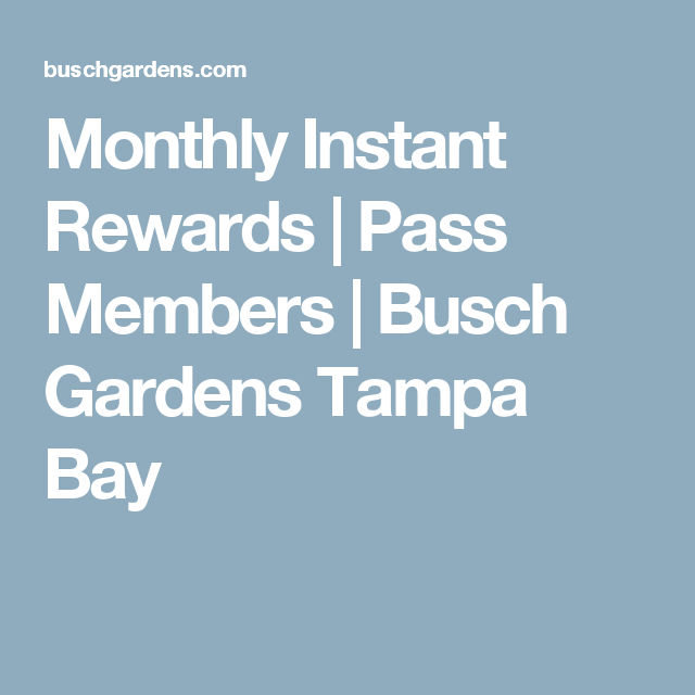 109f1ed639e264af34d41d9585e38c71 - Busch Gardens Tampa Season Pass Discount