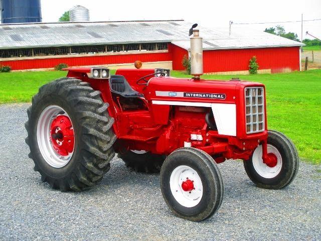 1975 international 674 for sale at tractorhouse com hundreds of rh pinterest com 384 IH Diesel Tractor W 1850 IH Loader IH 674 Tractor Farm