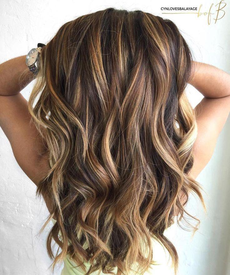 Long brown hair with caramel highlights hairstyle pinterest long brown hair with caramel highlights pmusecretfo Gallery