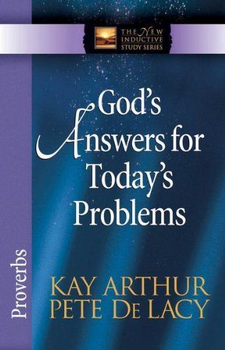 God's Answers for Today's Problems (The New Inductive Study Series) by Kay Arthur. $6.48. 112 pages. Publisher: Harvest House Publishers (April 1, 2007). Author: Kay Arthur
