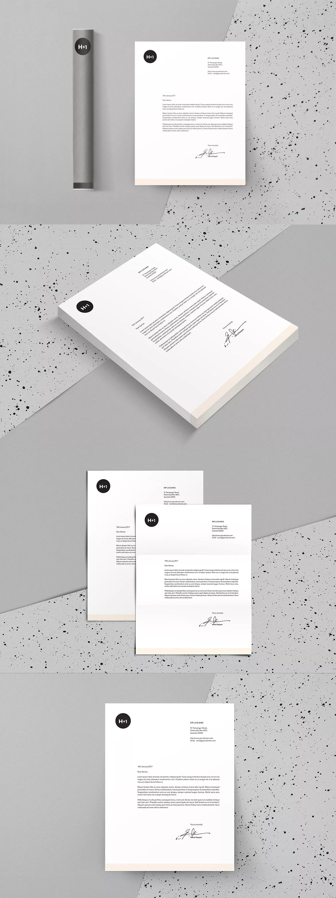 Letterhead template indesign indd us letter and a4 size letterhead template indesign indd us letter and a4 size spiritdancerdesigns Gallery