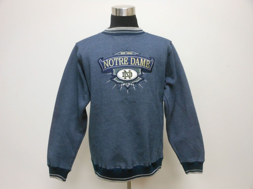 Midwest Embroidery Notre Dame University Fighting Irish Crewneck