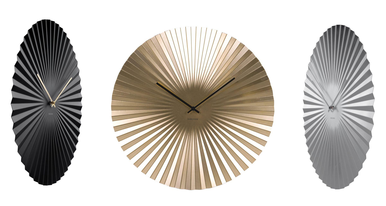 Retro Sensu Xl Present Time Wanduhr Oder Silber Stahl SchwarzGold ynPw0OvNm8