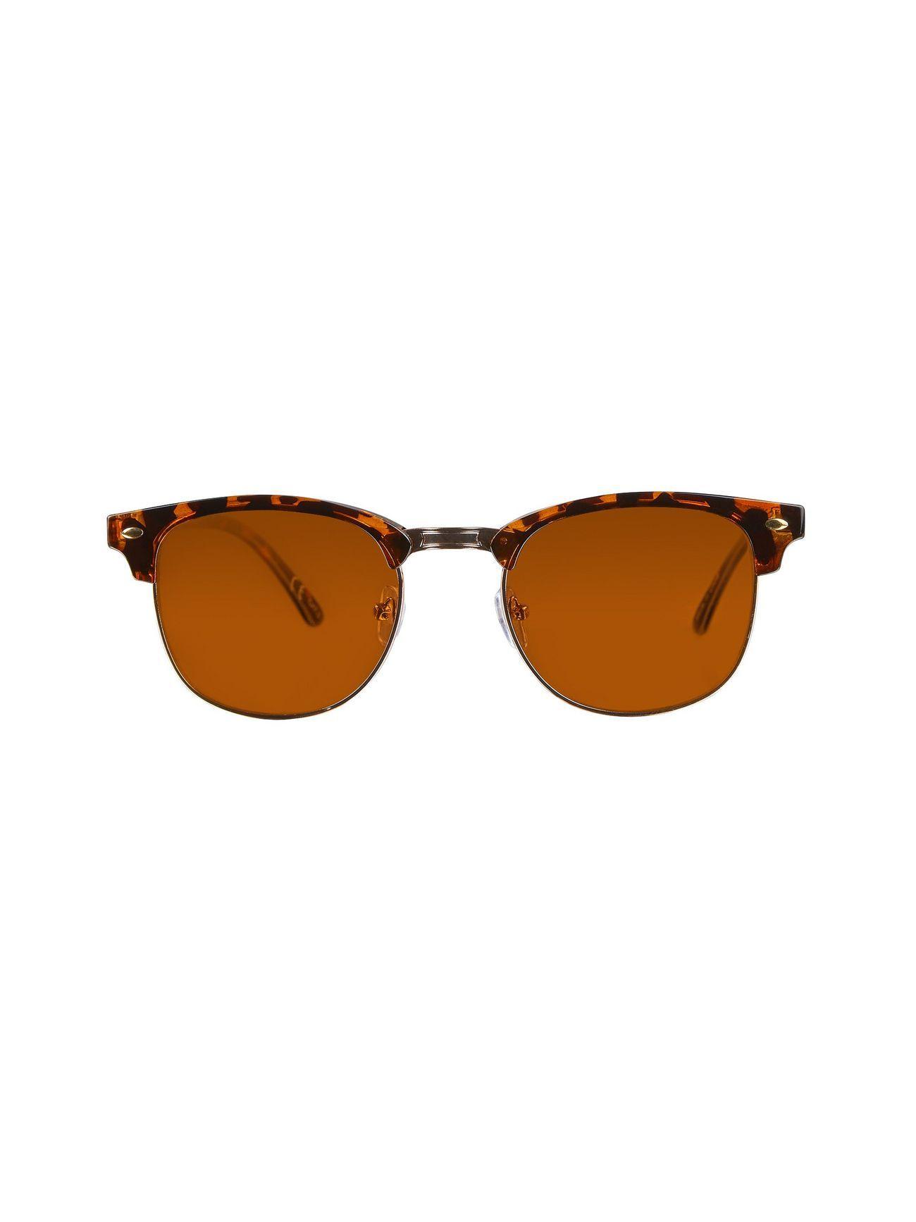 Brown tortoise shell retro sunglasses retro sunglasses