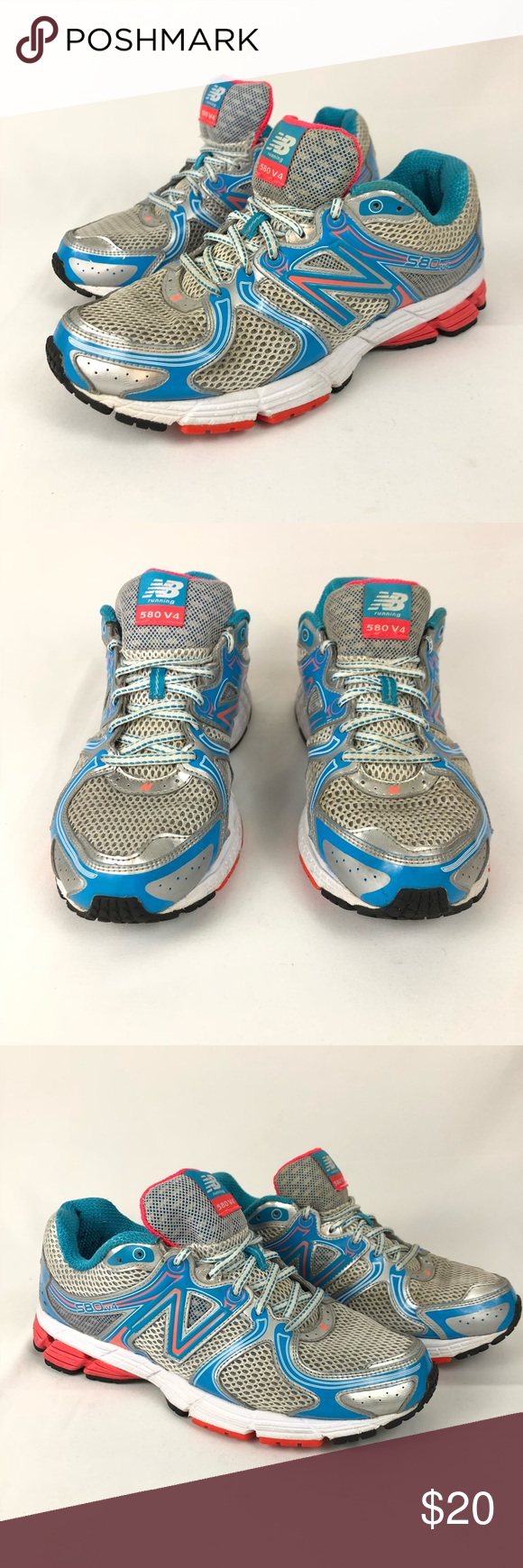 timeless design 40b27 27935 New Balance 580v4 Running Shoes. Exact item for sale is in ...