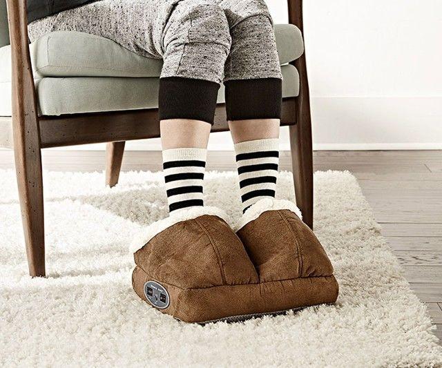 Heated Massage Slippers Cozy Gift Cozy Feet Foot Massage