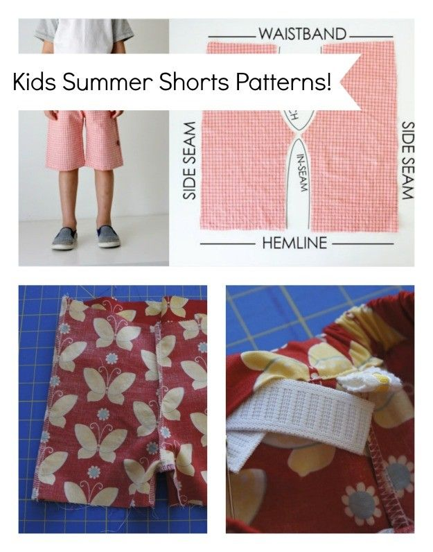 Free Sewing Patterns - Kids Shorts! – super simple sewing for cool ...