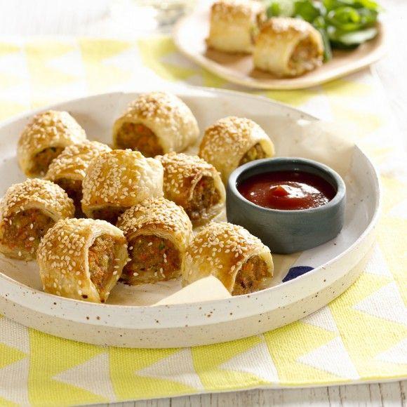 Healthy Sausage Rolls Recipe Food Recipes Sausage Rolls