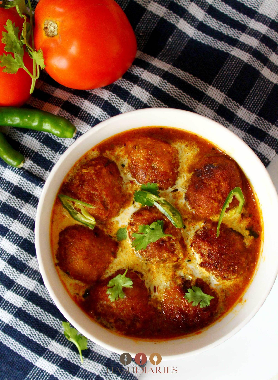 High Quality Kache Kela Kofta Curry Rezept Bengali Vegetarisches Essen
