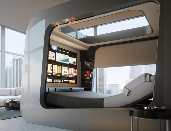 Hican Revolutionary Smart Bed Is Made For The Future