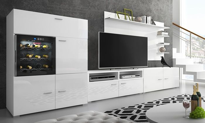 Groupon Goods Global GmbH: Denis Living Room System with Integrated ...