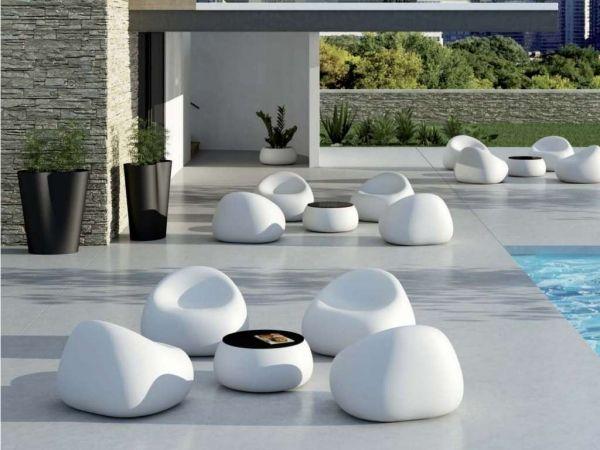 outdoor lounge möbel gumball-weiße siztsäcke | garten | pinterest, Best garten ideen