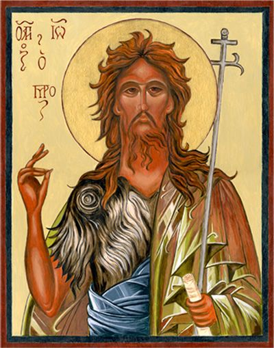 Image result for saint john the baptist beard picture