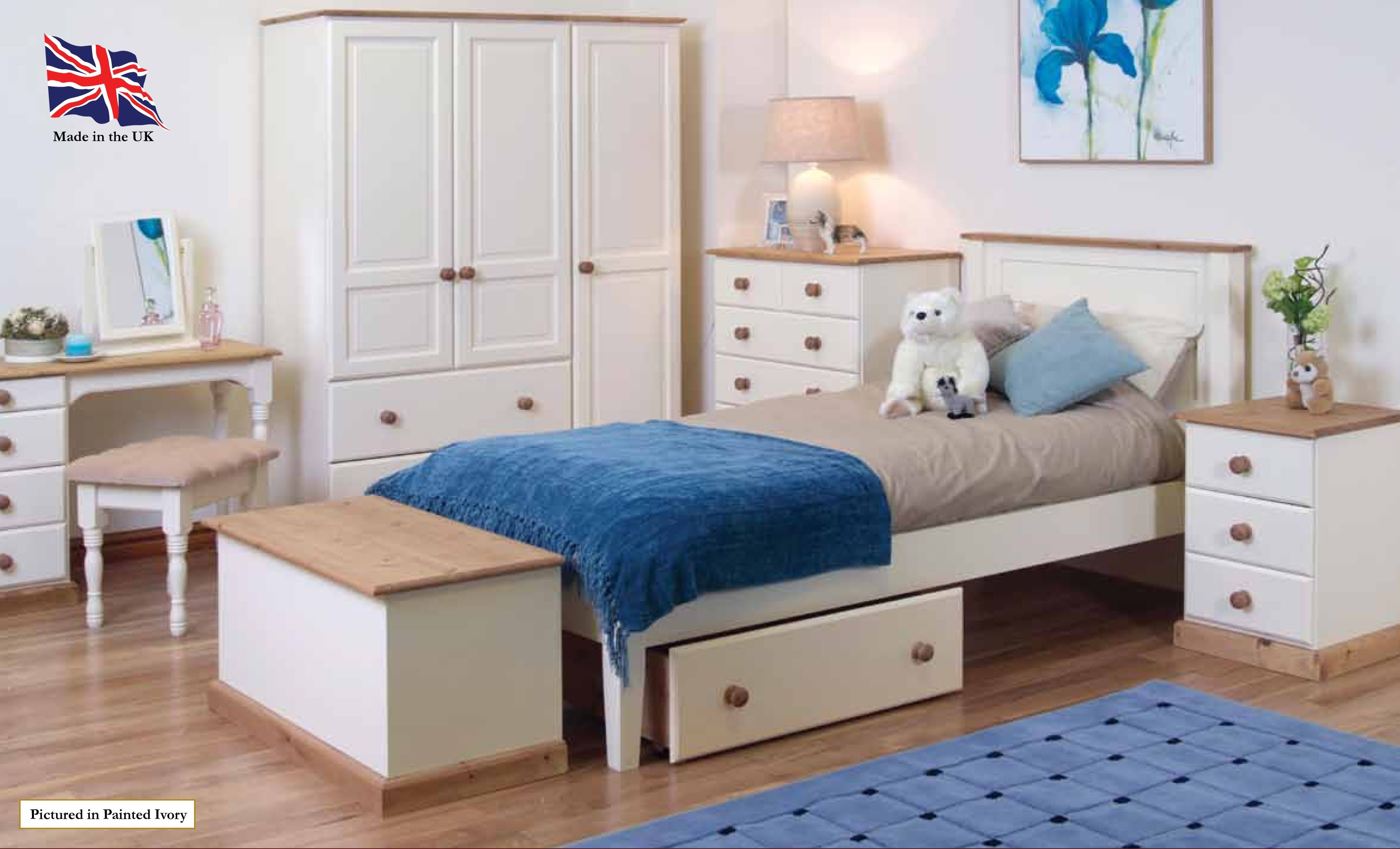 Tarka Painted Pine Collection Bedroom Furniture http