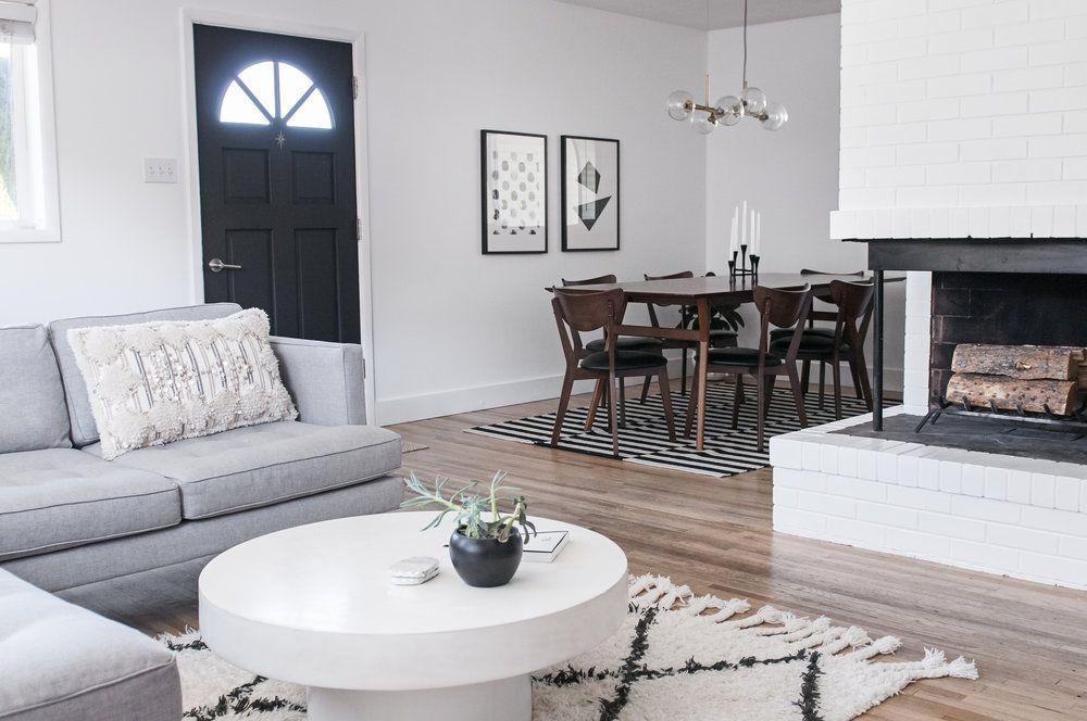 Scandinavian Style In Salt Lake City My Home Interior Design West Elm Apt Ideas Boho Living Room