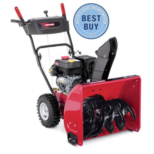 Craftsman 88957 24 179 Cc Two Stage Snow Blower At Sears Snow