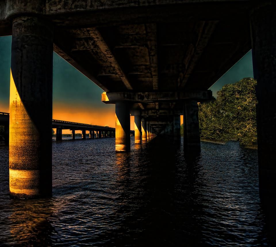 Michael Grado Under the Bridge - Atchafalaya Basin