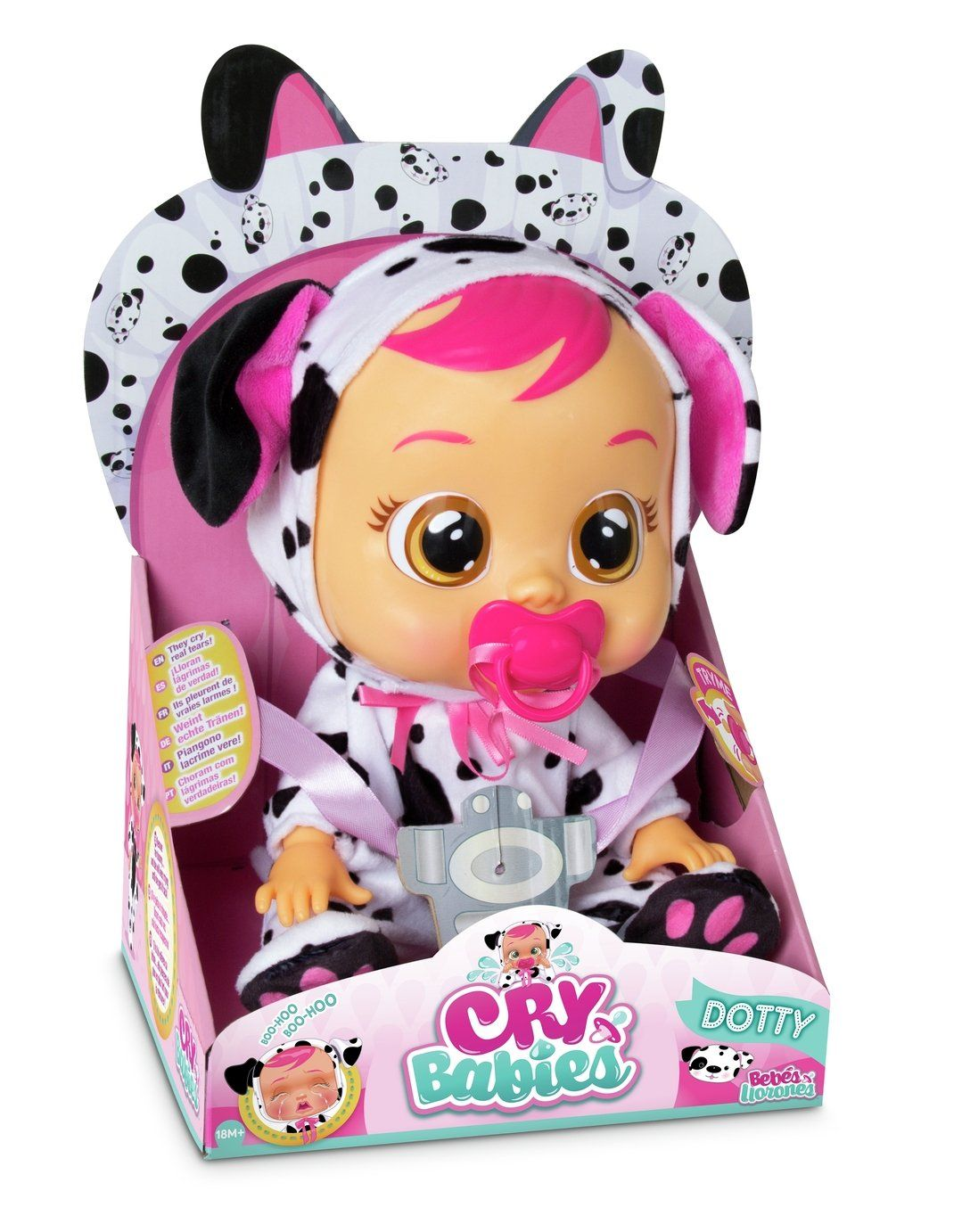 Cry Babies Dotty Doll Cry Baby Baby Dolls Baby Girl Toys