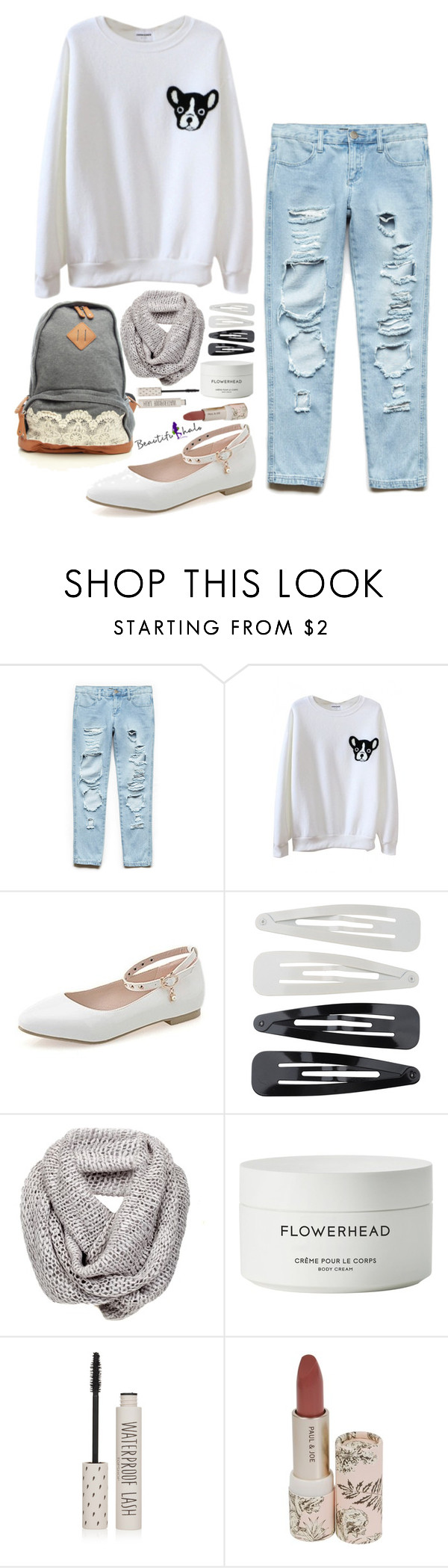 """""""Untitled #2138"""" by wh0s-that-grrrl ❤ liked on Polyvore featuring Forever 21, Byredo and Topshop"""