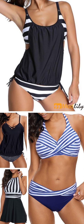 serie de rayas, simple y moda, natación, playa, sol, relax, disfrute, tra …