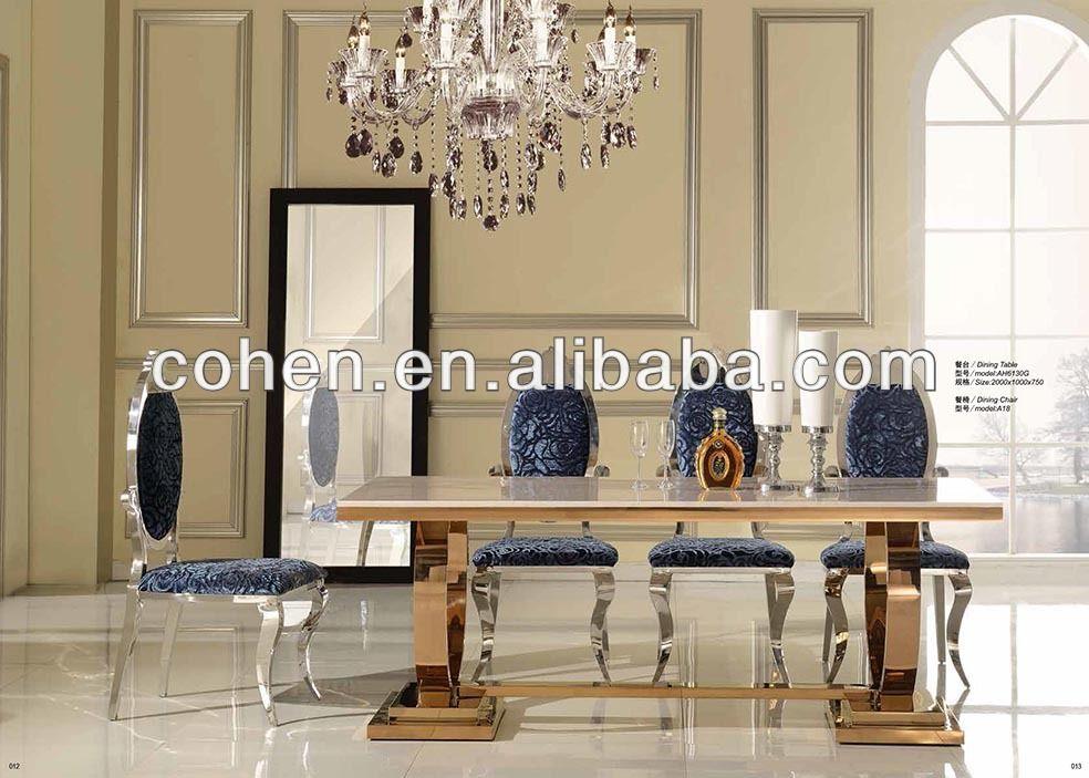 conjunto de mesa de jantar / restaurante fino da tabela definida com multa AH6130G jantar
