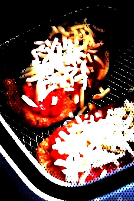 and Easy Air Fryer Chicken Parmesan Recipe   Skinnytaste -  Chicken Parmesan comes out great in the