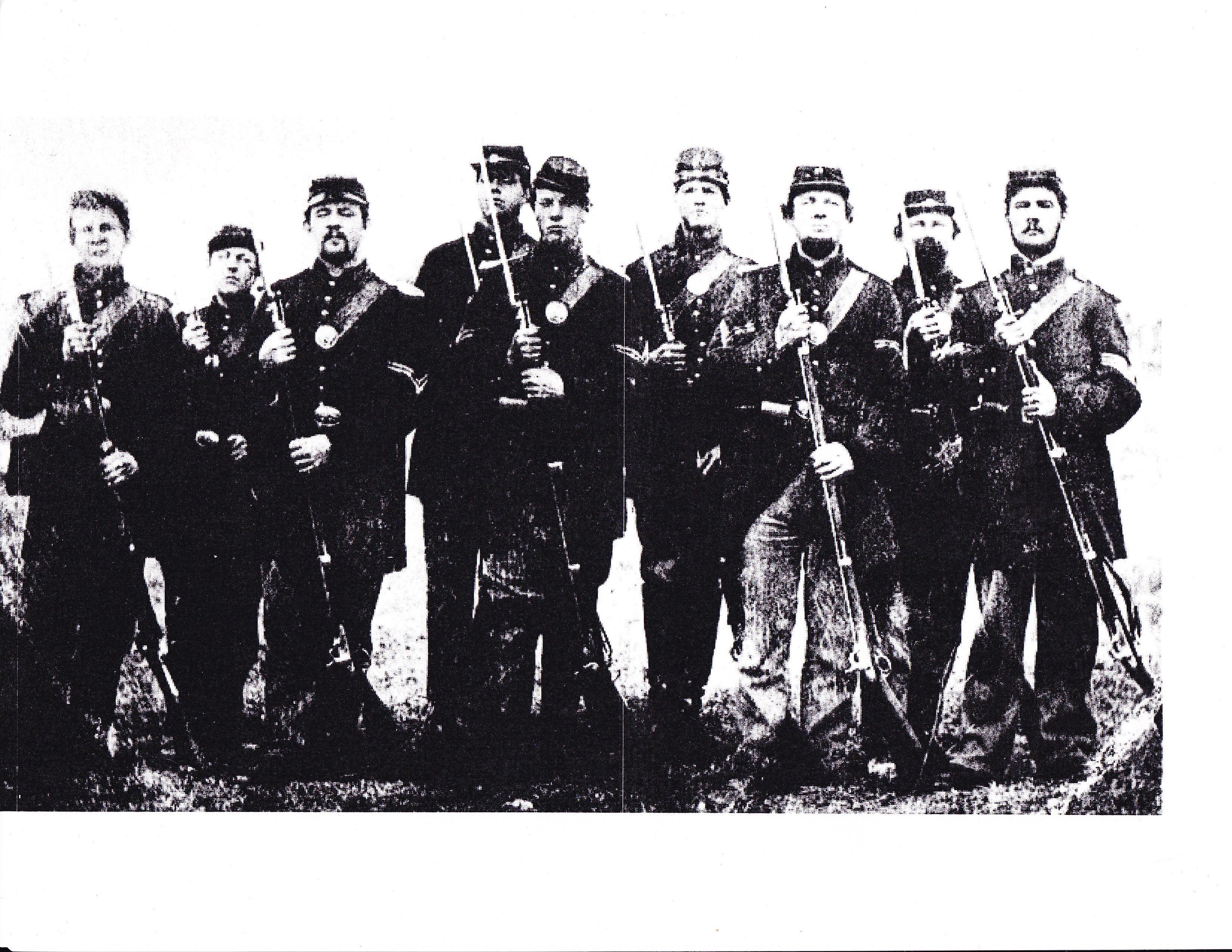 The 57th Massachusetts Infantry Civil War My Relitive Carlos Augustus Helmesd In Battle