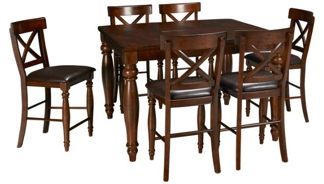 Intercon Kingston 7 Piece Dining Set Jordan S Furniture 7