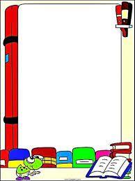Resultado de imagem para bordas simples para texto for Bordas para mural