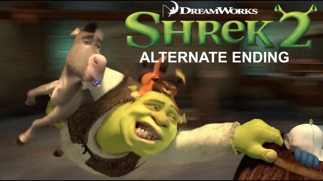 Shrek 2 2004 Alternate Ending Shrek Movies And Tv Shows Parody