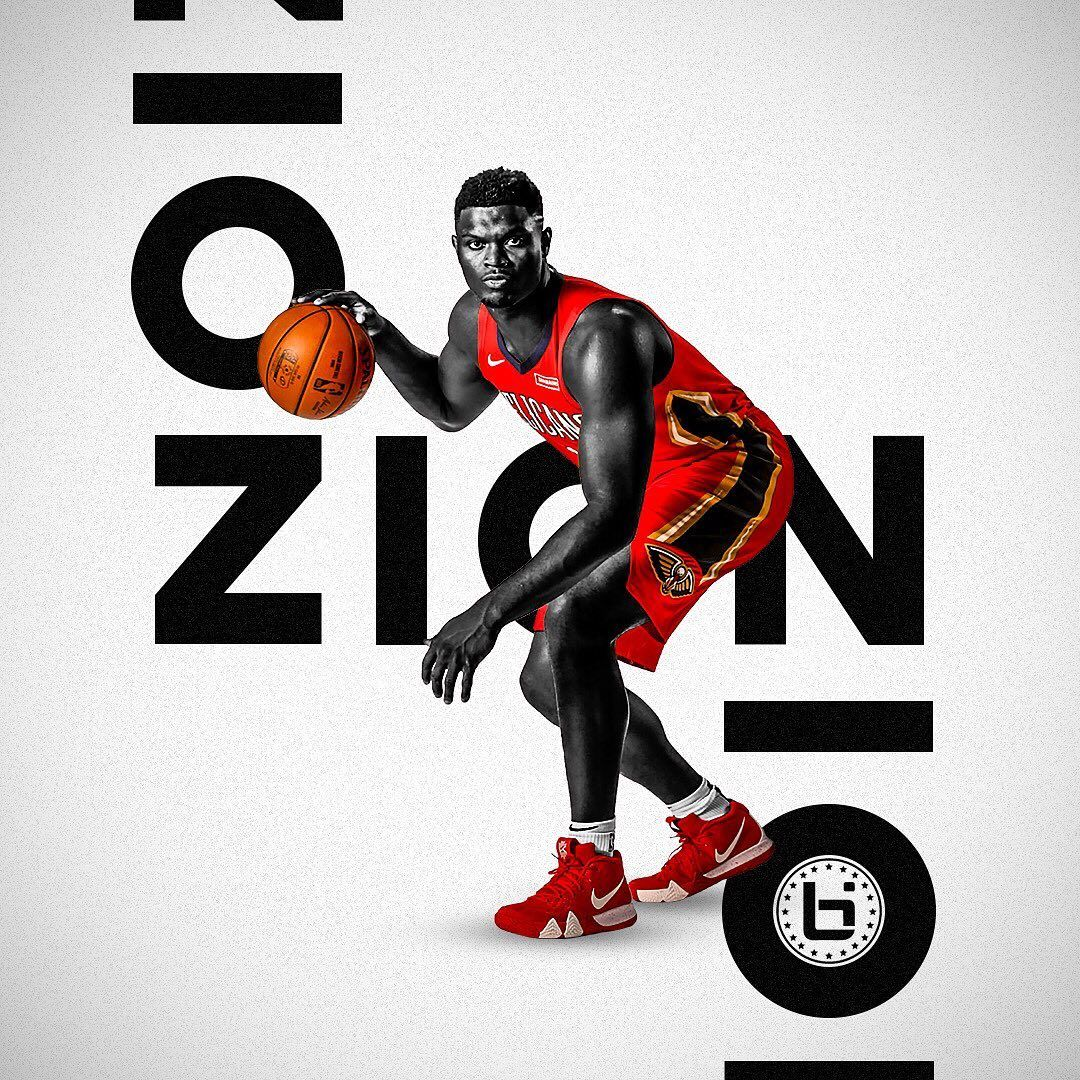 Ballislife On Instagram Zion This Weeks Wallpaper Features Zionwilliamson Edited By Kyle Ballislife Will Zio Basketball Wallpaper Ballislife Zion