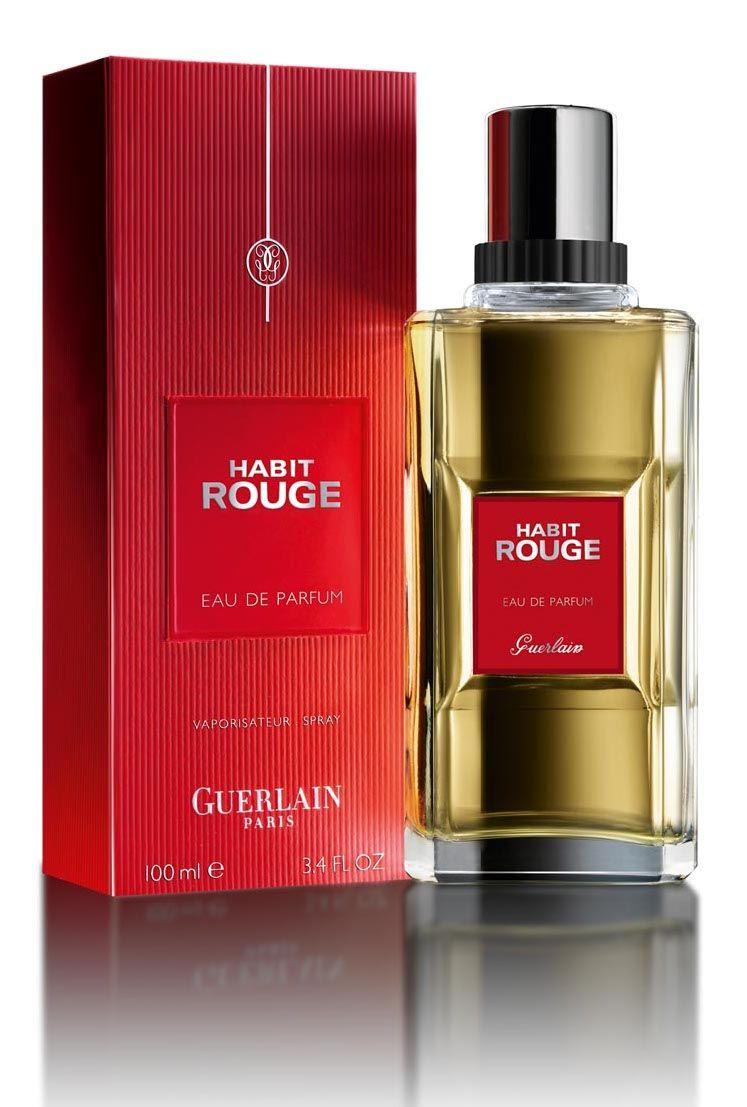 Guerlain Habit Rouge Eau De Parfum Perfume Perfume Bottles Bottle
