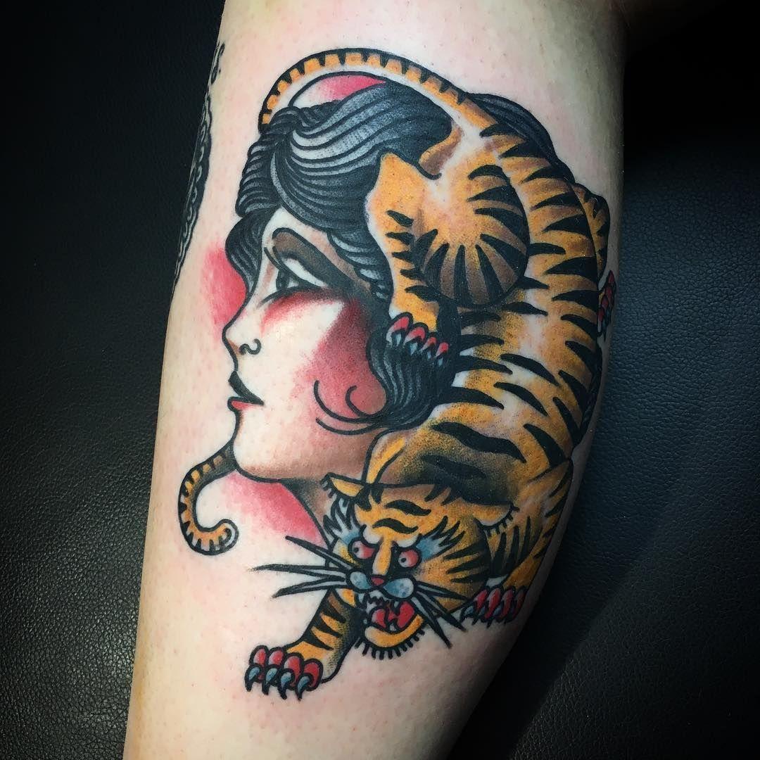 Classic Tattoo Berlin: Tiger Tattoo, Tattoos