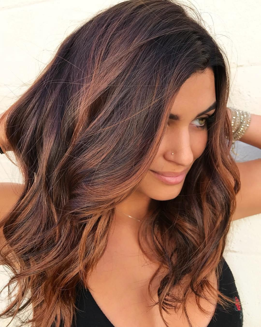 60 Chocolate Brown Hair Color Ideas For Brunettes Hair Styles Brown Hair With Highlights Hair Color Burgundy