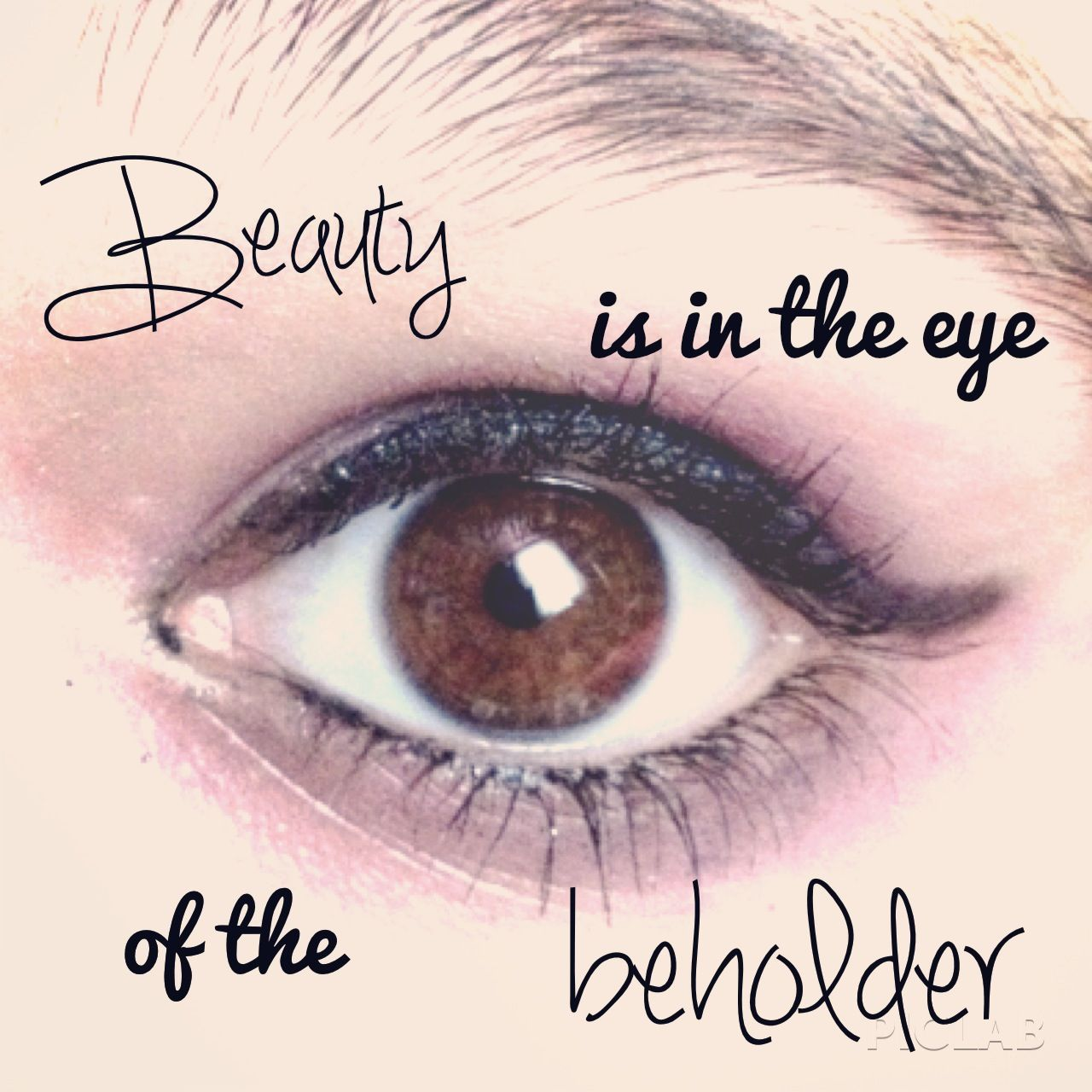 Cute quote Eye quotes