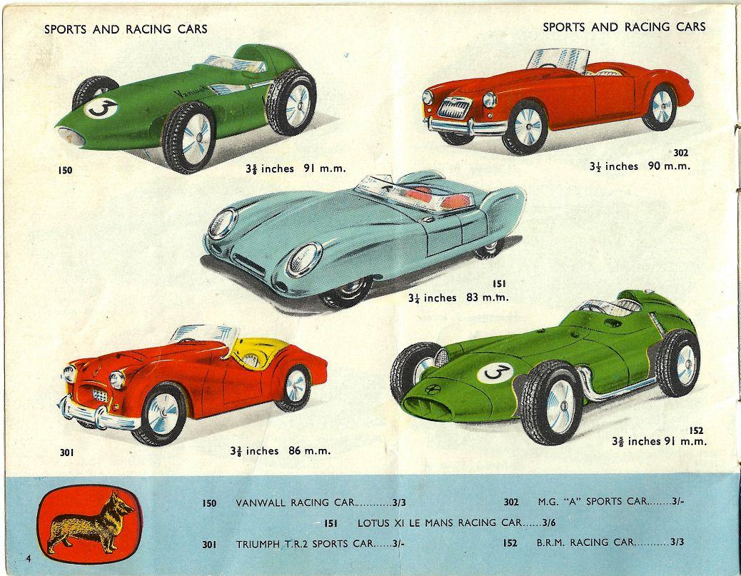 Cars 3 toys racers  Corgi Toys from Andrew Hill International  Dinky Toys  Pinterest